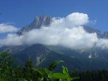Montagne di Dolomity Fotografia Stock Libera da Diritti