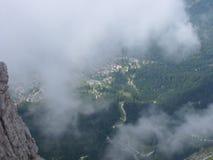 Montagne di Dolomity Immagini Stock