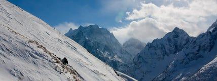 Montagne di Dombai Fotografie Stock