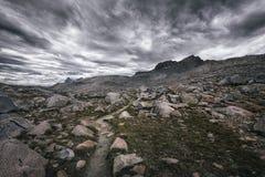 Montagne di Donohue, Yosemite NP Fotografie Stock Libere da Diritti