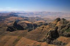 Montagne di Drakensberg immagini stock libere da diritti