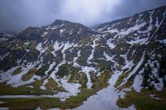 Montagne di elevata altitudine Fotografia Stock