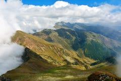 Montagne di Fagaras Immagine Stock
