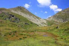 Montagne di Fagaras Immagini Stock