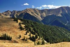 Montagne di Fagaras in Romania Fotografia Stock Libera da Diritti