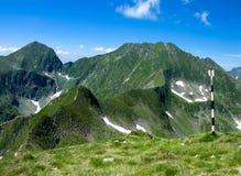 Montagne di Fagaras in Romania Immagini Stock Libere da Diritti