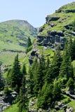 Montagne di Fagaras, Romania Immagine Stock