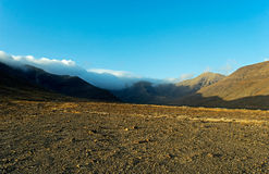 Montagne di Fuerteventura nell'area Jandia Immagine Stock Libera da Diritti