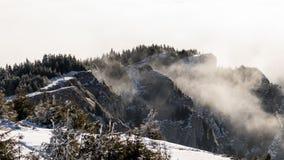 Montagne di fumo Fotografie Stock