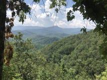 Montagne di Gatlinburg Tennessee Fotografia Stock