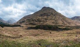 Montagne di Glencoe immagini stock