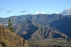 Montagne di Gran Canaria Fotografie Stock Libere da Diritti