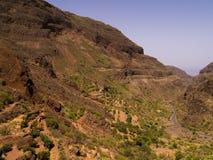 Montagne di Gran Canaria Fotografia Stock