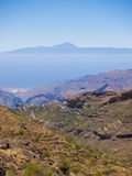 Montagne di Gran Canaria Immagini Stock Libere da Diritti