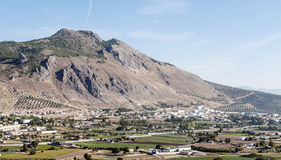 Montagne di Granada Fotografia Stock