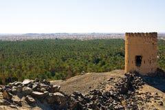 Montagne di Hajar, Oman fotografia stock libera da diritti
