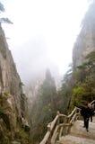 Montagne di Huangshan Immagini Stock Libere da Diritti