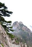 Montagne di Huangshan Fotografie Stock
