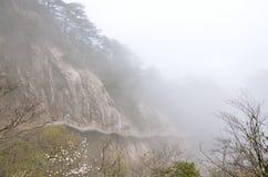 Montagne di Huangshan Fotografia Stock Libera da Diritti