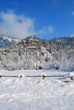 Montagne di inverno, Montana Immagini Stock