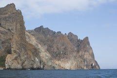 Montagne di Karadag fotografie stock libere da diritti