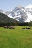 Montagne di Karwendel Fotografie Stock