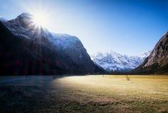 Montagne di Karwendel Immagini Stock
