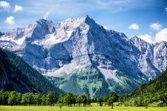 Montagne di Karwendel Fotografia Stock Libera da Diritti