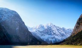 Montagne di Karwendel Fotografia Stock