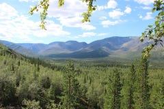Montagne di Khibiny Fotografie Stock