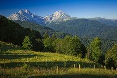 Montagne di Komovi Fotografie Stock Libere da Diritti