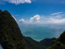 Montagne di LangKawi Fotografia Stock
