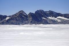 Montagne di Levanne (3619 mt). L'Italia Fotografia Stock Libera da Diritti