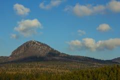 Montagne di Lusatian Fotografia Stock Libera da Diritti