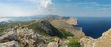 Montagne di Majorca, Spagna fotografia stock libera da diritti