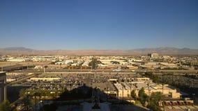 Montagne di mattina di Las Vegas fotografia stock libera da diritti