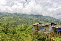 Montagne di PA del Sa, Vietnam Fotografia Stock Libera da Diritti