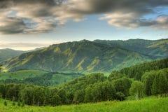 montagne di paesaggio Immagine Stock
