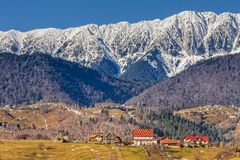 Montagne di Piatra Craiului, Romania Immagine Stock