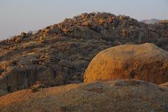 Montagne di pietra Fotografia Stock