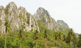 Montagne di pietra Fotografia Stock Libera da Diritti