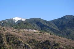Montagne di Pirenei Fotografia Stock Libera da Diritti