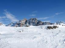 Montagne di Pizzo Uccello Fotografia Stock Libera da Diritti