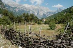 Montagne di Prokletije, Albania fotografia stock libera da diritti