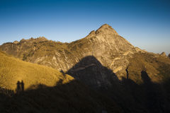 Montagne di Qinling Fotografie Stock