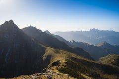 Montagne di Qinling Fotografia Stock Libera da Diritti