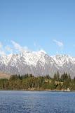 Montagne di Remarkables in Nuova Zelanda Immagini Stock Libere da Diritti