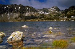 Montagne di Retezat Fotografia Stock