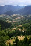 Montagne di Rhodope, Bulgaria Fotografia Stock