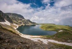 Montagne di Rila, Bulgaria Fotografie Stock